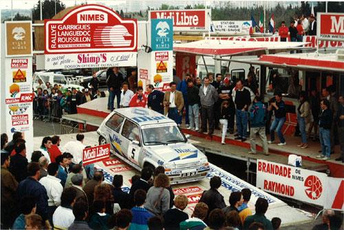 Raymond Geoffroy, Rallye Garrigues Languedoc Roussillon 1990